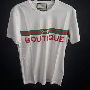 GUCCI MEN WHITE SHORT SLEEVE
